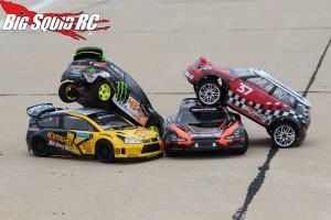Rally Car Shootout Pavement Driving 5