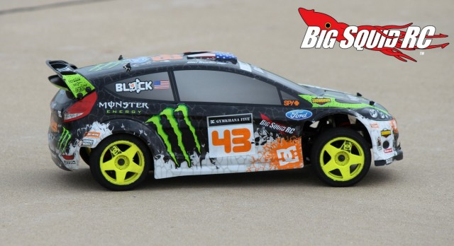 Rally Shootout HPI Ken Block WR8 Flux