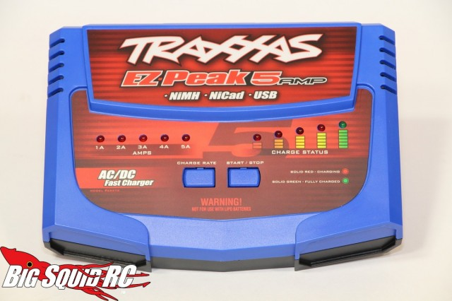 Traxxas EZ-Peak NiMH/NiCd 5 Amp AC/DC Charger Review