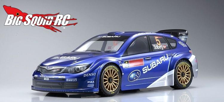Kyosho DRX VE SUBARU IMPREZA WRC 2008