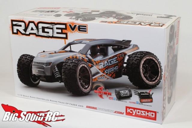Kyosho Rage VE 4wd Buggy Unboxing