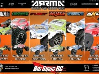 New ARRMA Website BLX Brushless
