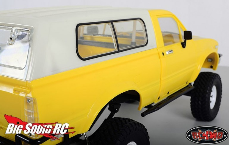 RC4WD Tightfit Truck Topper Mojave Hilux Bodies