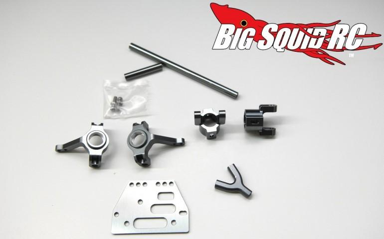 Gun Metal Anodizing STRC Axial SCX10 Aluminum Parts