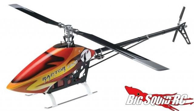 Thunder Tiger Raptor E820 Electric Flybarless Kit Helicopter
