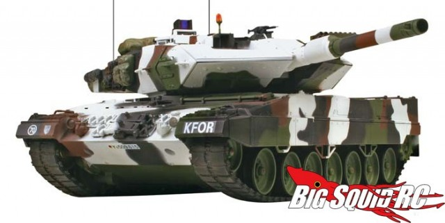 VsTank 1/24 Leopard 2 A5 Tank Winter Camo 2.4GHz RTR