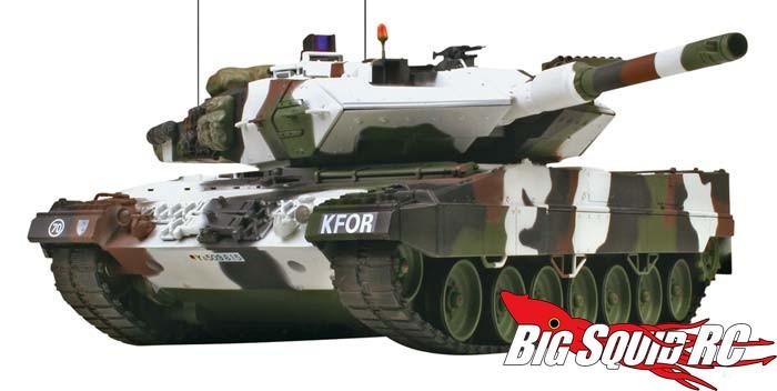 Vstank 1 24 Leopard 2 A5 Winter Camo 2 4ghz Rtr Tank 171 Big
