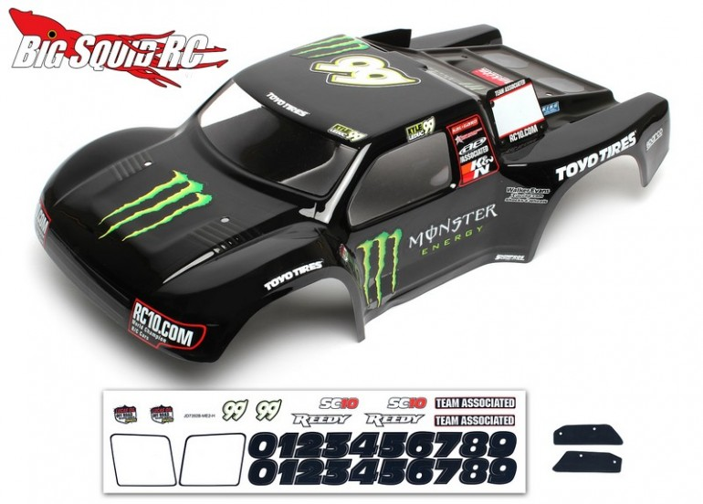 Associated SC10 Monster Energy Contender Body