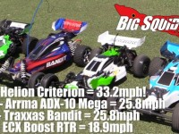 Helion Criterion Top Speed