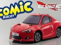 Kyosho Comic Racer Red Toyota Scion