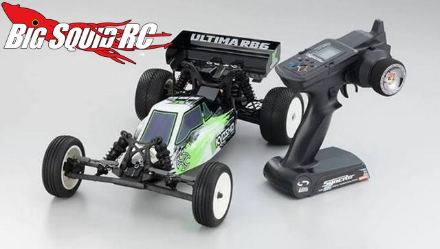 Kyosho Ultima RB6 buggy readyset