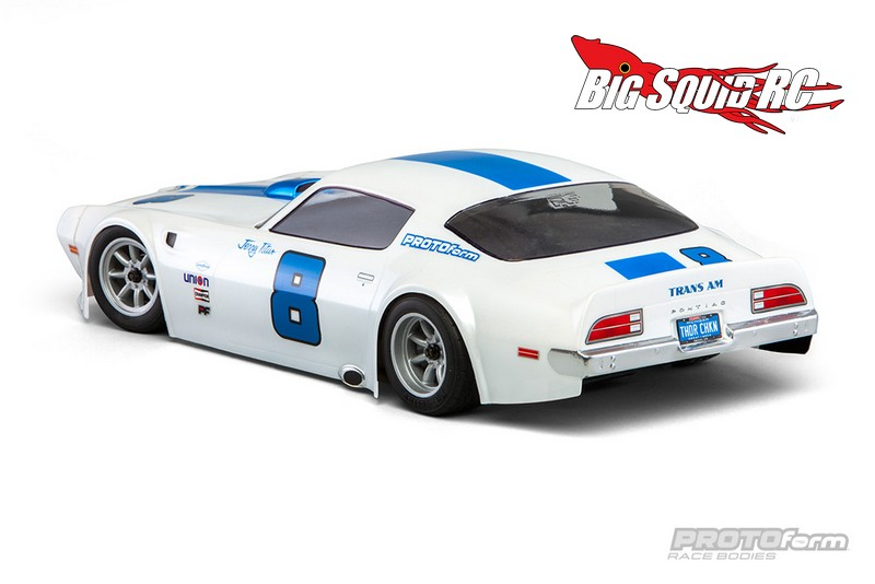 Protoform Pontiac Firebird Trans Am Clear Body