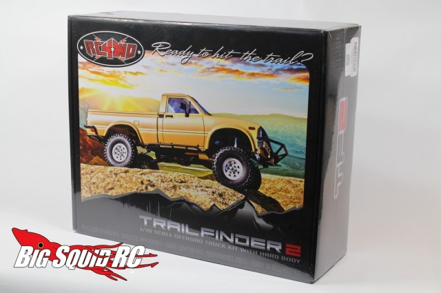Unboxing RC4WD Trail Finder 2 Truck Kit w/Mojave Body