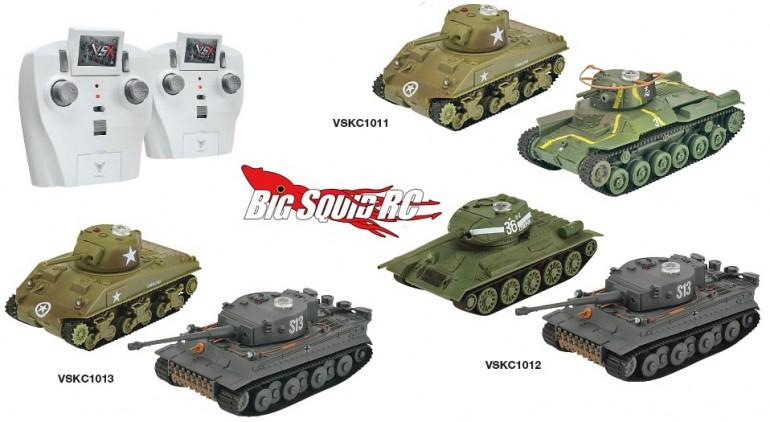 VsTank 1/72 Scale Tank Sets