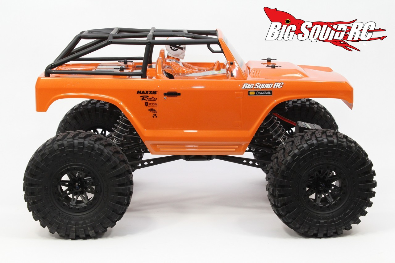 Axial R C : Unboxing axial ax deadbolt rtr « big squid rc car
