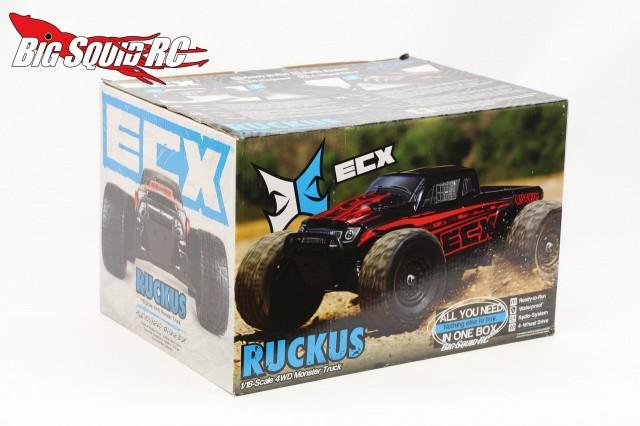 Unboxing ECX Ruckus 1/18