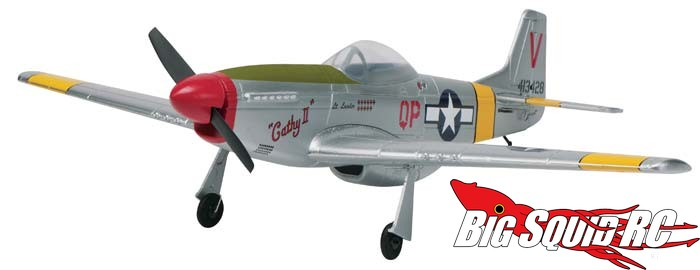Flyzone Aircore P-51 Mustang Cathy II Airframe 22""