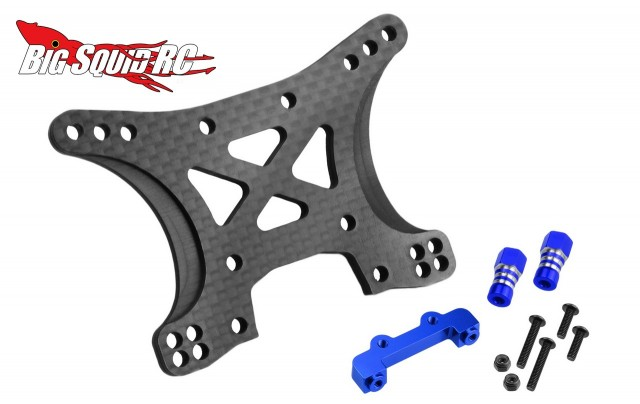 JConcepts Carbon Fiber Shock Towers Traxxas Slash 4x4