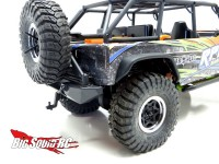 Gear Head 1/10 Scale Receiver Hitch for Axial Poison Spyder Rear Bumper
