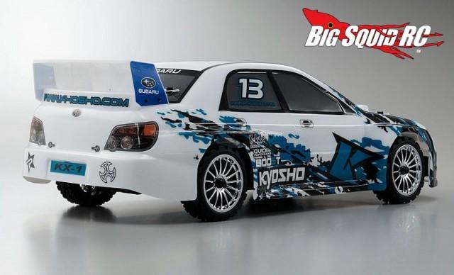 Kyosho Fazer Subaru Impreza KX1 VE-X