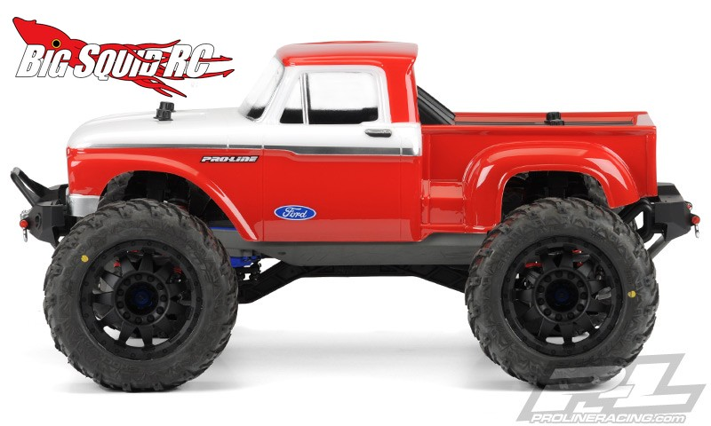 traxxas stampede videos with Pro Line 1966 Ford F 100 Hay Hauler Clear Body on REVO® Race Quad Project Turn Your Revo ATV Racing Machine together with Pro Line 1966 Ford F 100 Hay Hauler Clear Body moreover 58094 1fordraptor furthermore XRAY T4 2015 Specs 1 10 Luxury Electric TC 300021 moreover Traxxas Bigfoot Monster Truck.