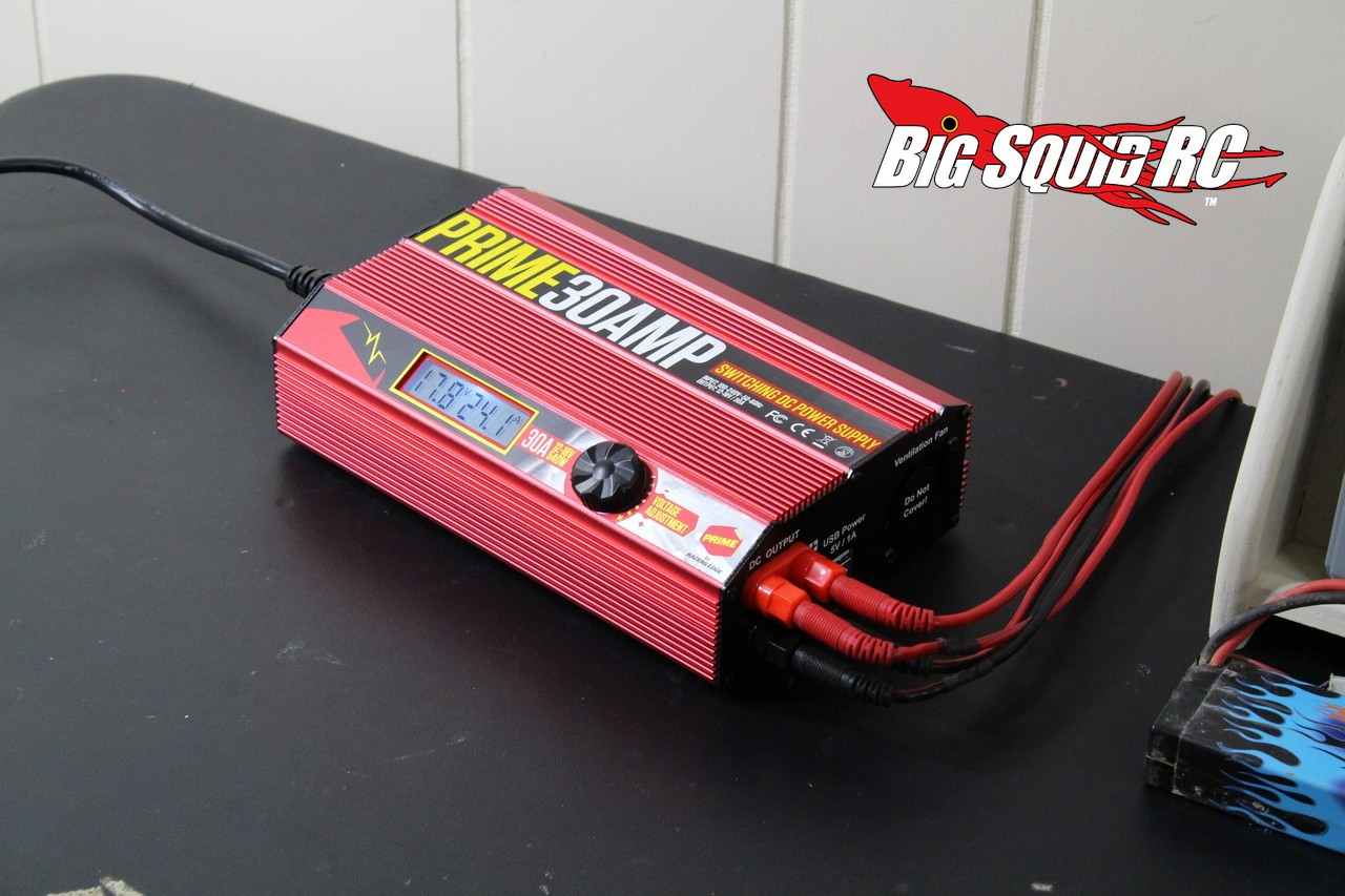 Product Spotlight Racers Edge Prime 30 Amp Power Supply