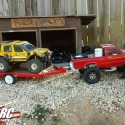 Scale R/C Crawler with Leaf Springs