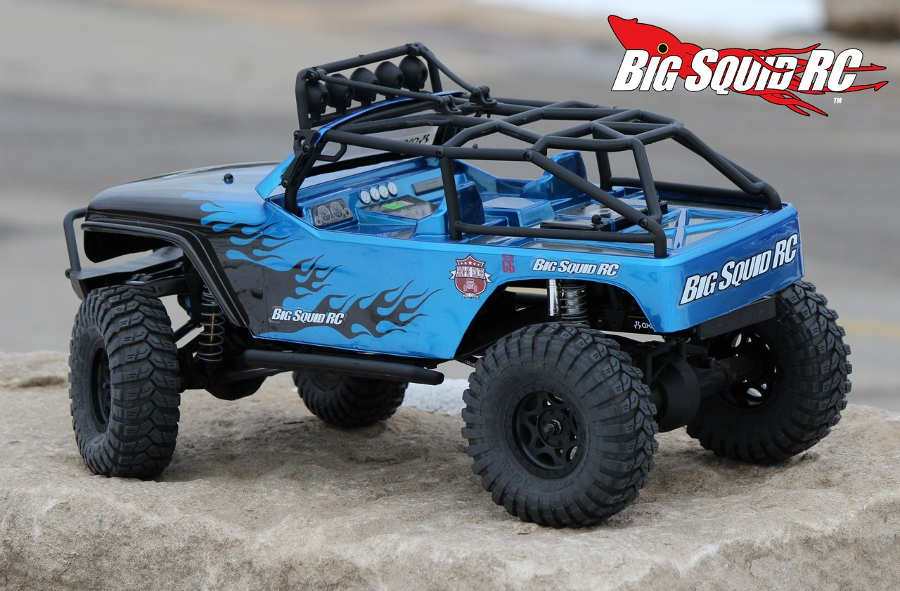 Review Axial Scx10 Jeep Wrangler G6 Kit 171 Big Squid Rc