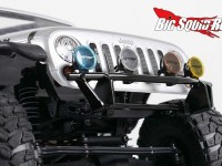 RC4WD Tough Armor Front Lightbar Bumper for Axial SCX10
