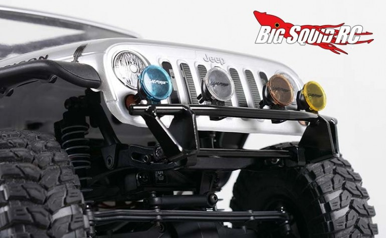 RC4WD Tough Armor Front Lightbar Bumper for Axial SCX10