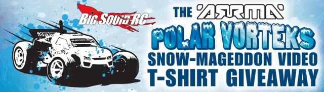 ARRMA Polar VORTEKS Snowmageddon Video