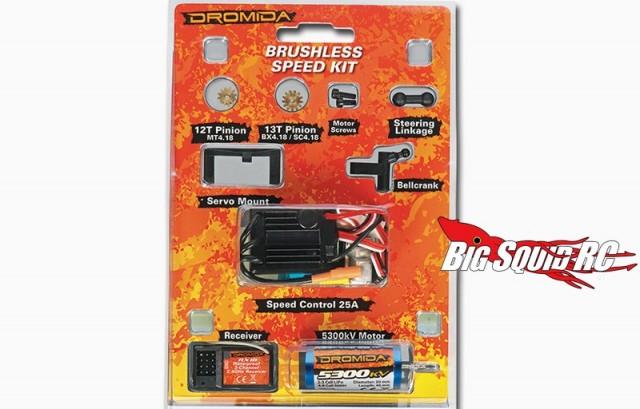 Dromida Brushless Speed Kit