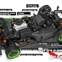 HPI Racing Nitro RS4 3 Evo+ 69 Mustang 2