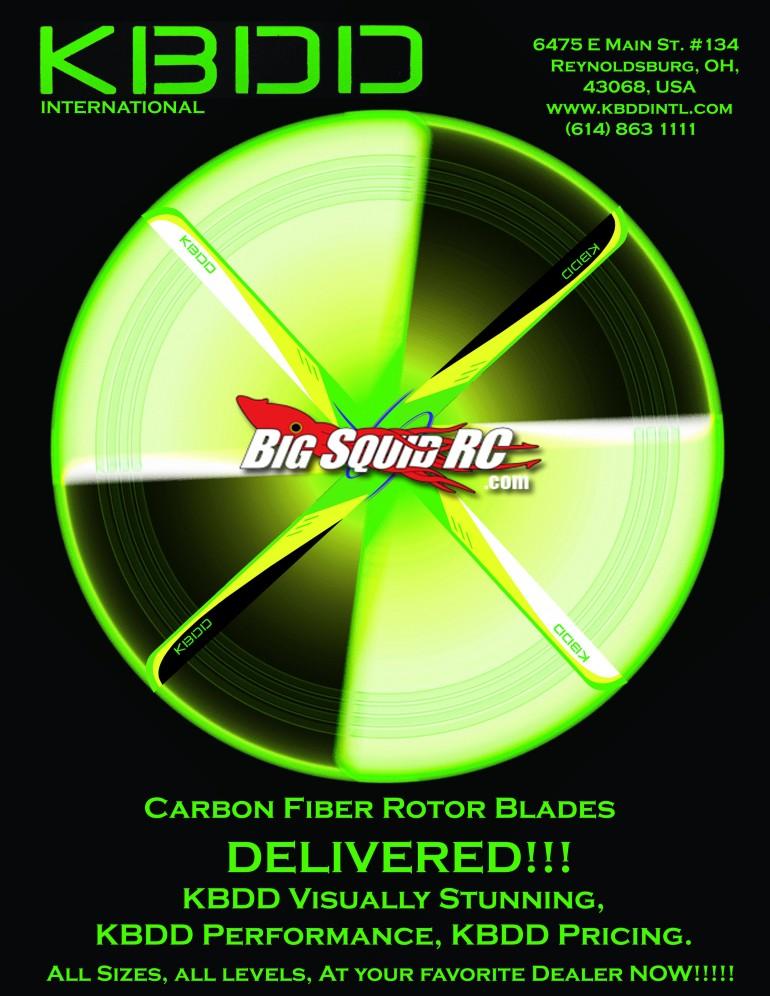 KBDD Neon CF Blades