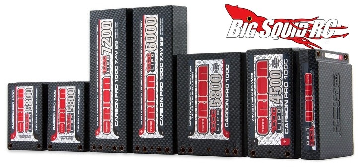 Team Orion 100C Lipo batteries