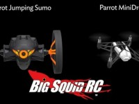 Parrot Jumping Sumo & MiniDrone Video