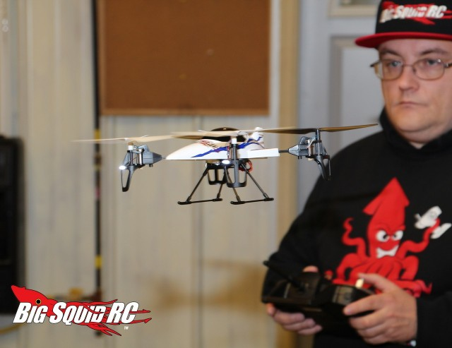 Quad copter Shootout Flying Time