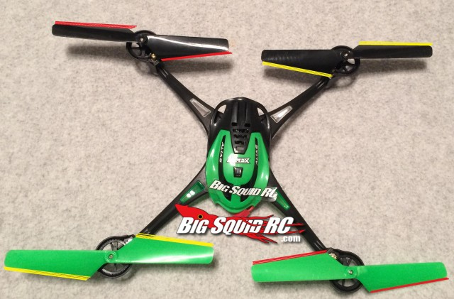 Quadcopter Blade Visual Guide