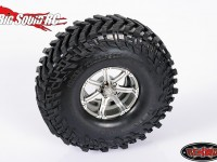 RC4WD Dick Cepek Gun Metal 7 2.2 Beadlock Wheels