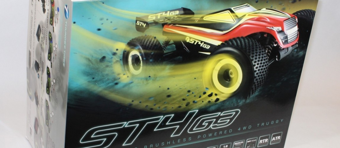 Unboxing 2014 Thunder Tiger ST4 G3