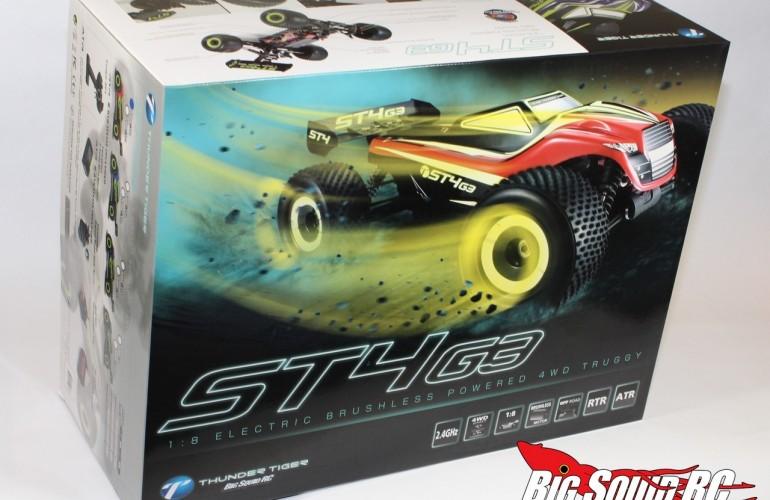 Unboxing 2014 Thunder Tiger ST4 G3