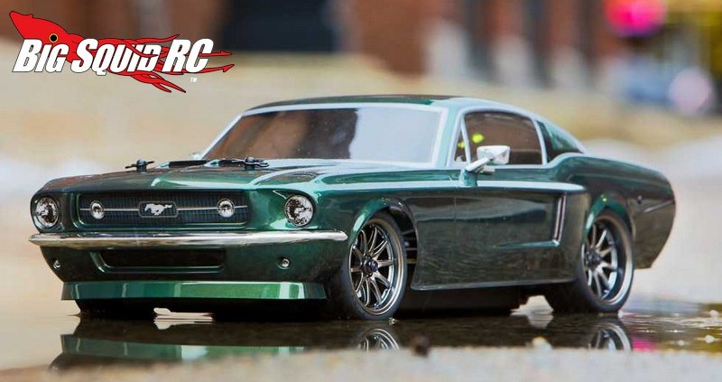 Vaterra 1967 Ford Mustang V100 S Rtr 1 171 Big Squid Rc Rc