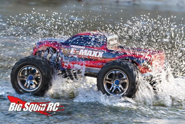 Waterproof Traxxas E-Maxx