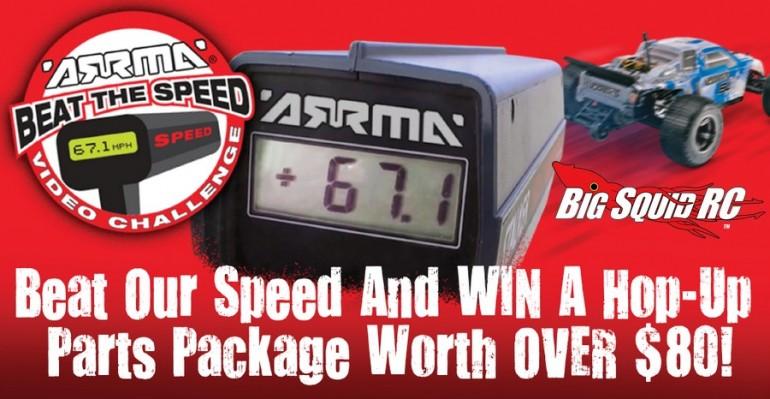 ARRMA Beat the Speed