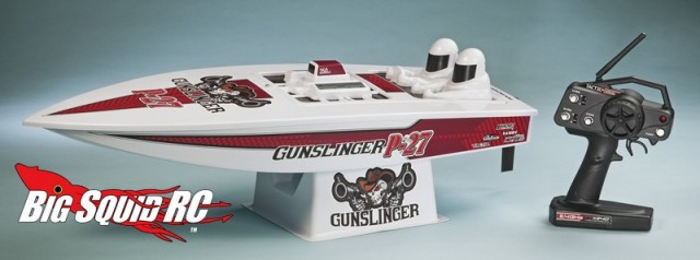 AquaCraft P-27 Gunslinger Crackerbox RTR