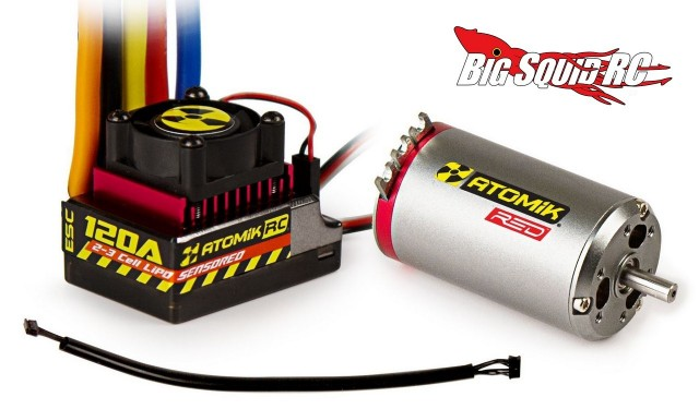Atomik 550 Sensored Brushless Combo