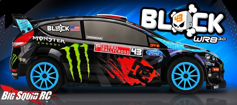 hpi ken block ford fiesta wr8 3 0 nitro rally car big squid rc rc car and truck news. Black Bedroom Furniture Sets. Home Design Ideas
