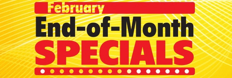 Hobbico end of the month specials