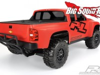 Pro-Line Pre-Cut Chevy Silverado HD Clear Body for SCT