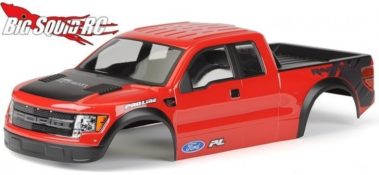 Pro-Line Pre-Painted/Pre-Cut Ford Raptor Body Traxxas Stampede